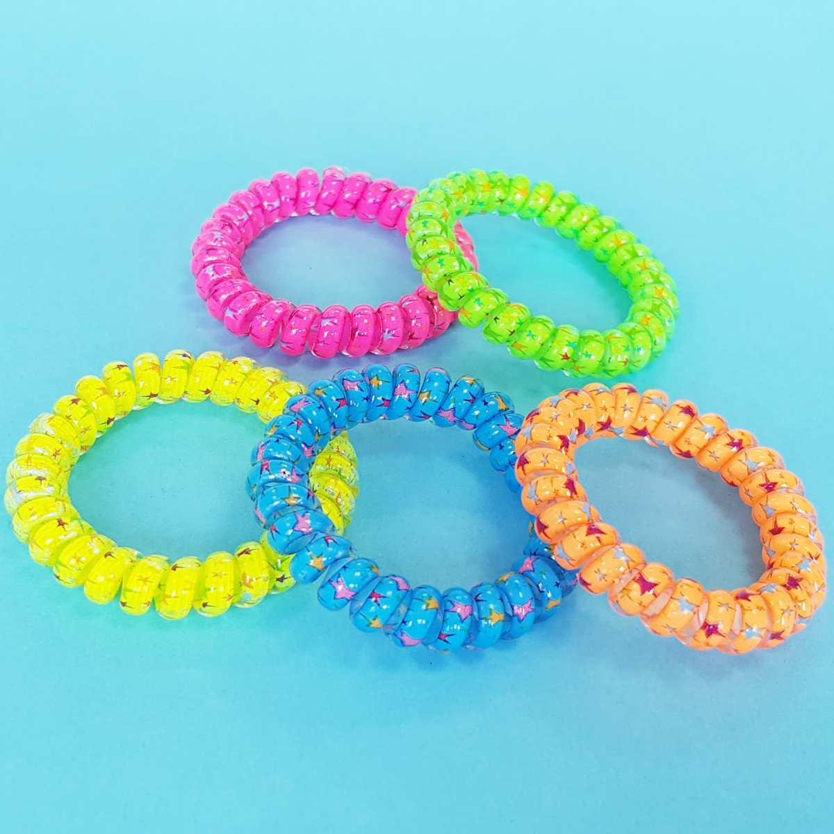 Neon-Spiralarmreifen