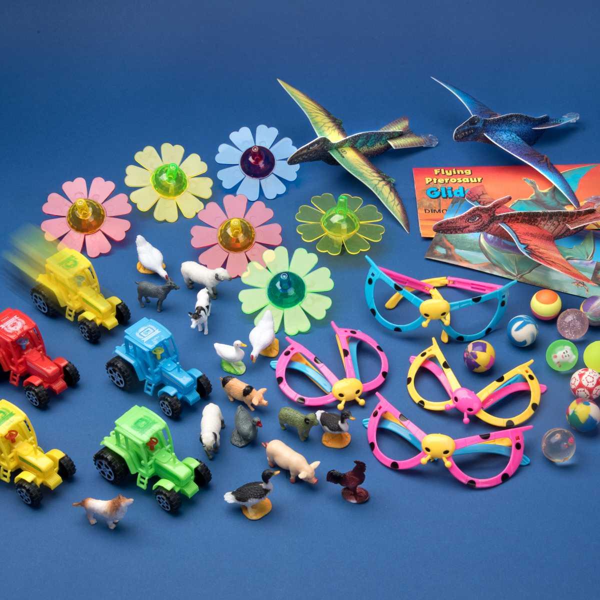 Spielsachen-Mix