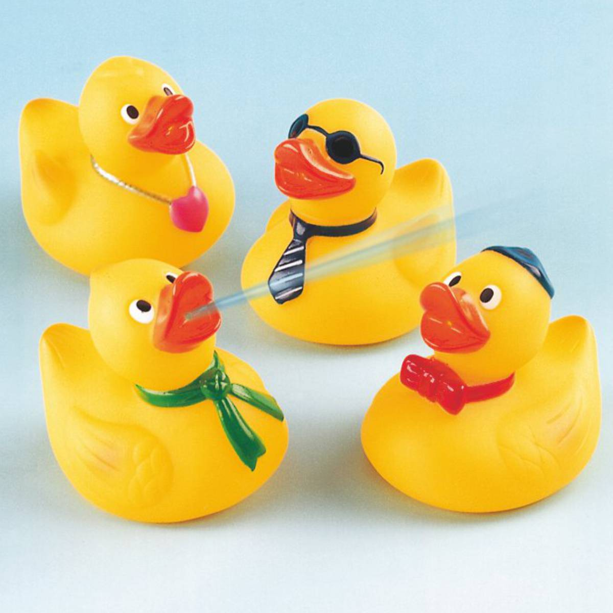Wasserspritzer Knautsch-Enten