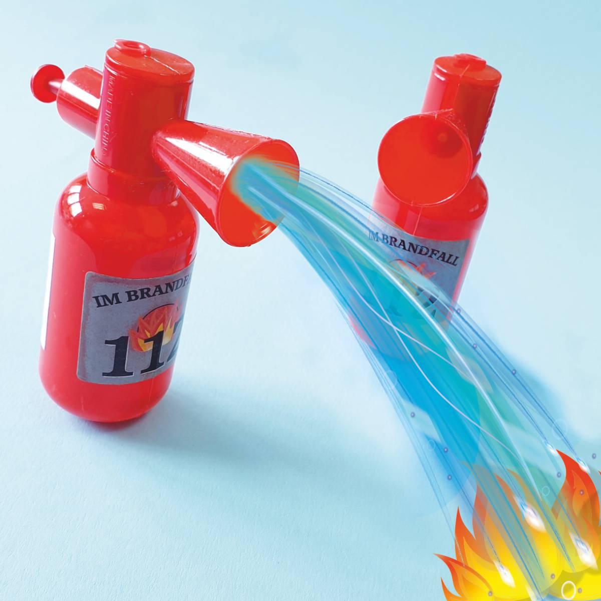 Wasserspritzer Feuerlöscher