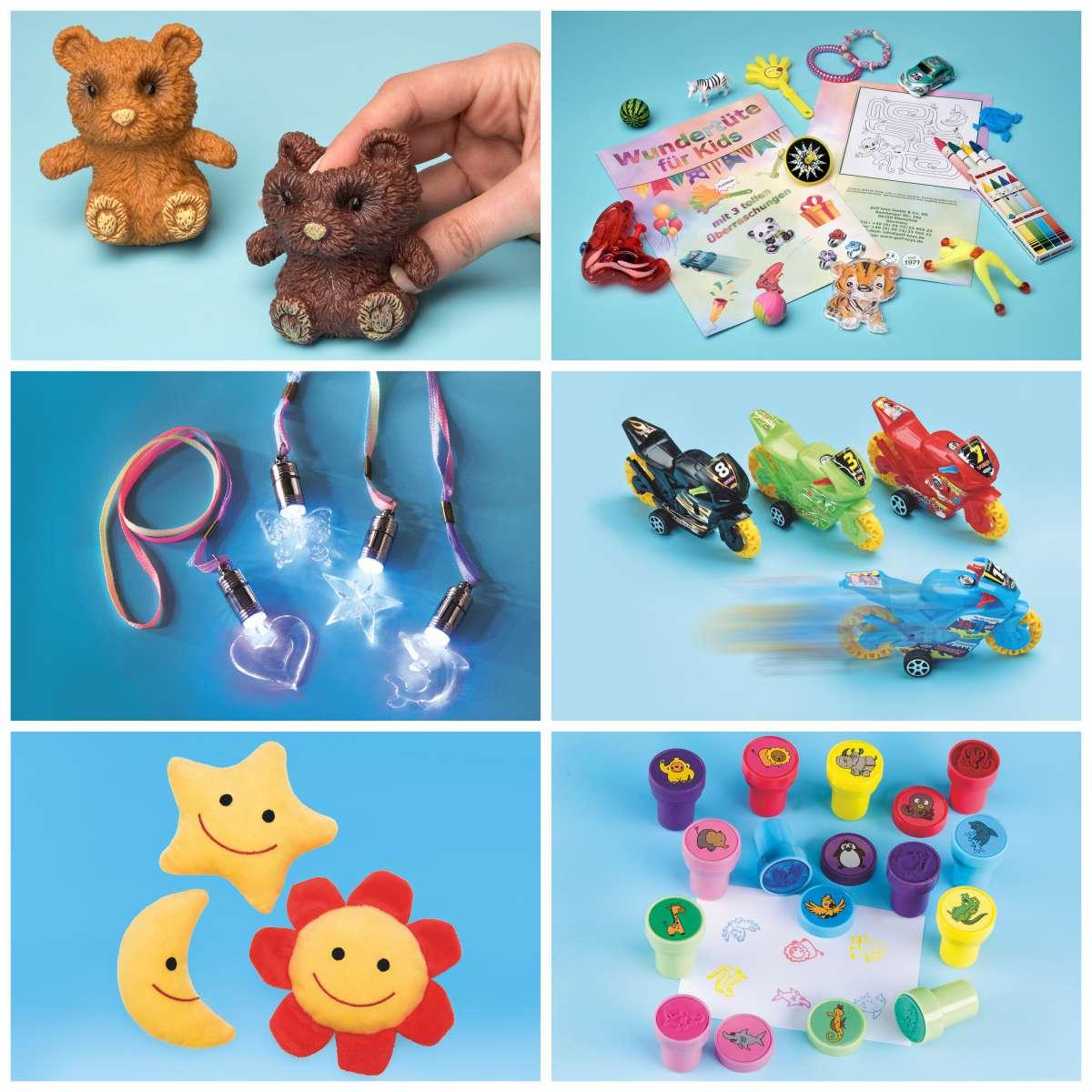 Spielzeugpaket