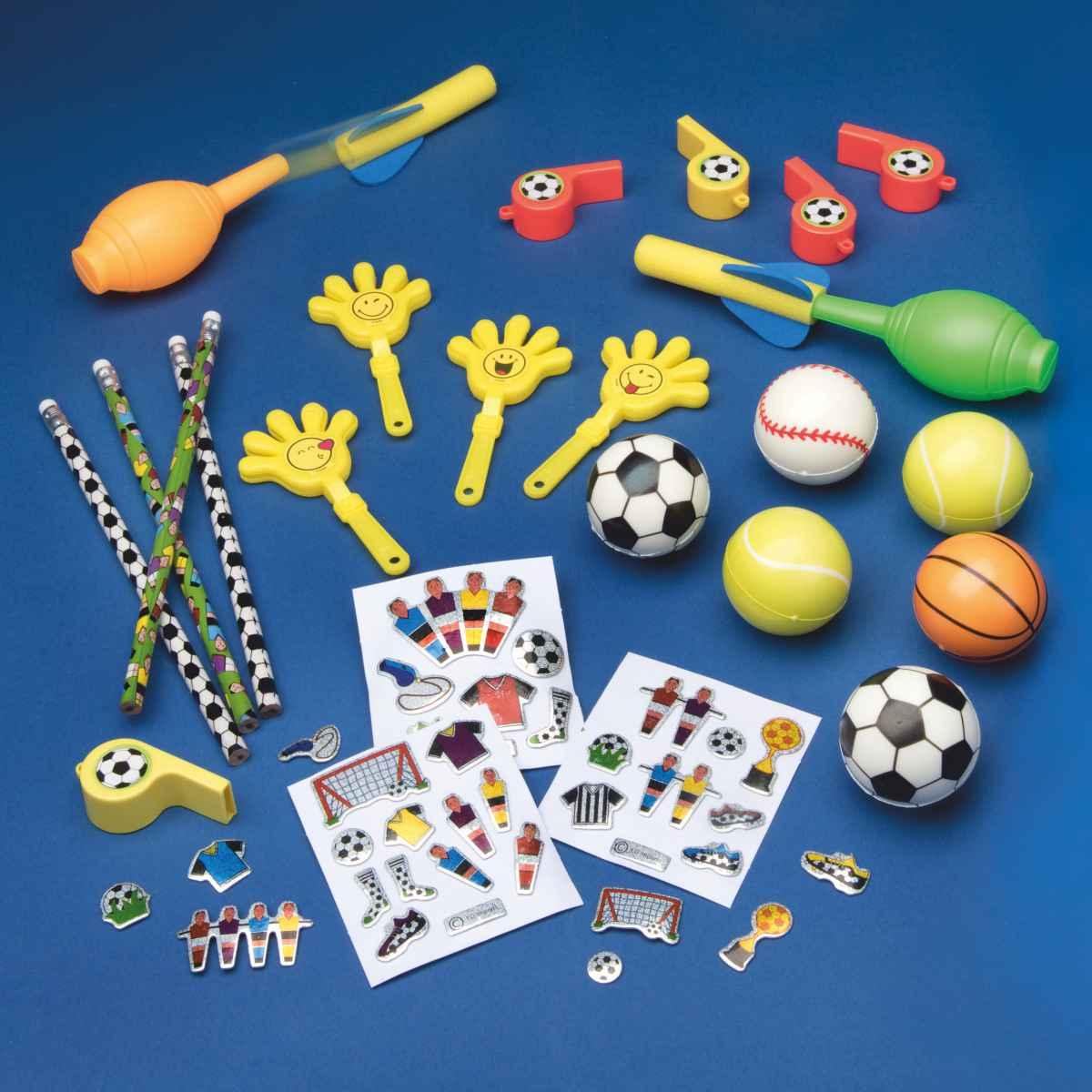 Spielzeugpaket Fußball und Sport