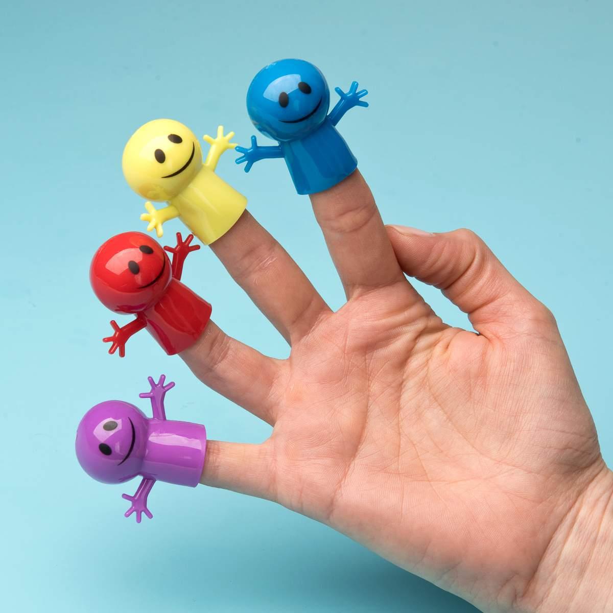 Fingerpuppen Happy Face