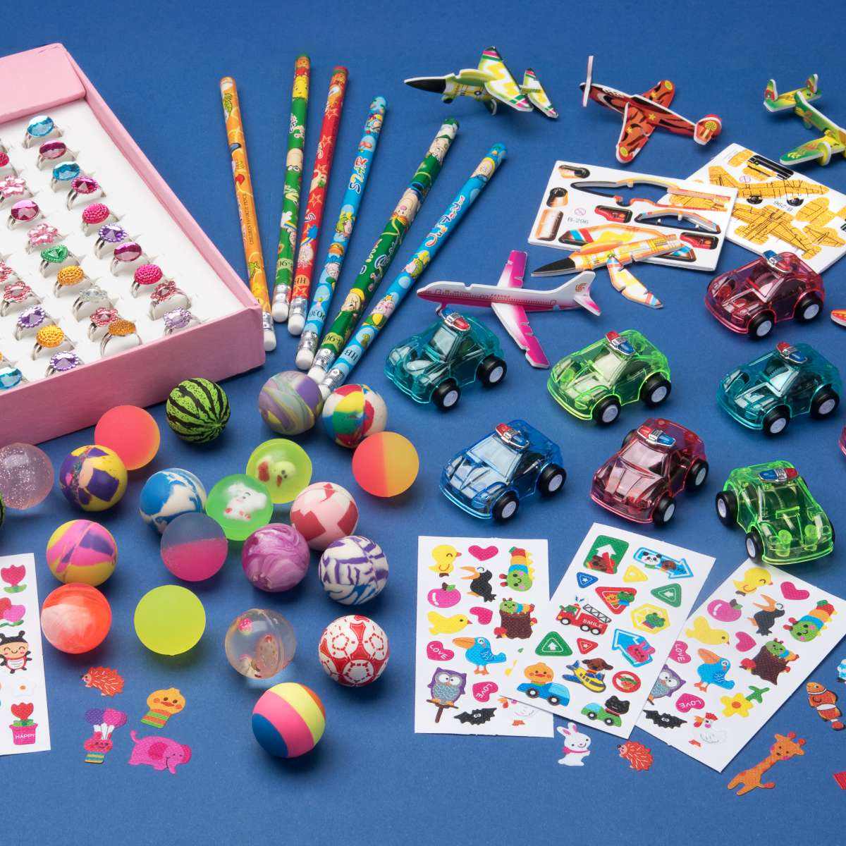 Spielzeugsortiment